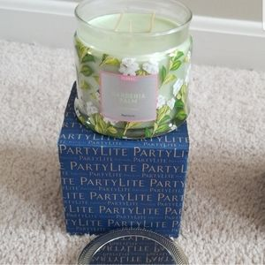 Partylite Gardenia Palm candle